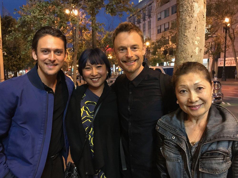 菅野真代のお友達のトニー賞受賞したAn American In Parisの監督・演出・振付家のクリストファー・ウィールドン
