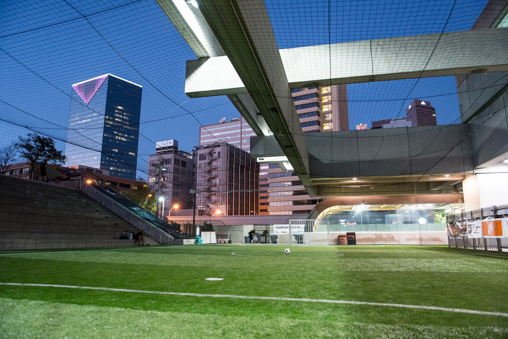 The project has brought soccer to the heart of Atlanta