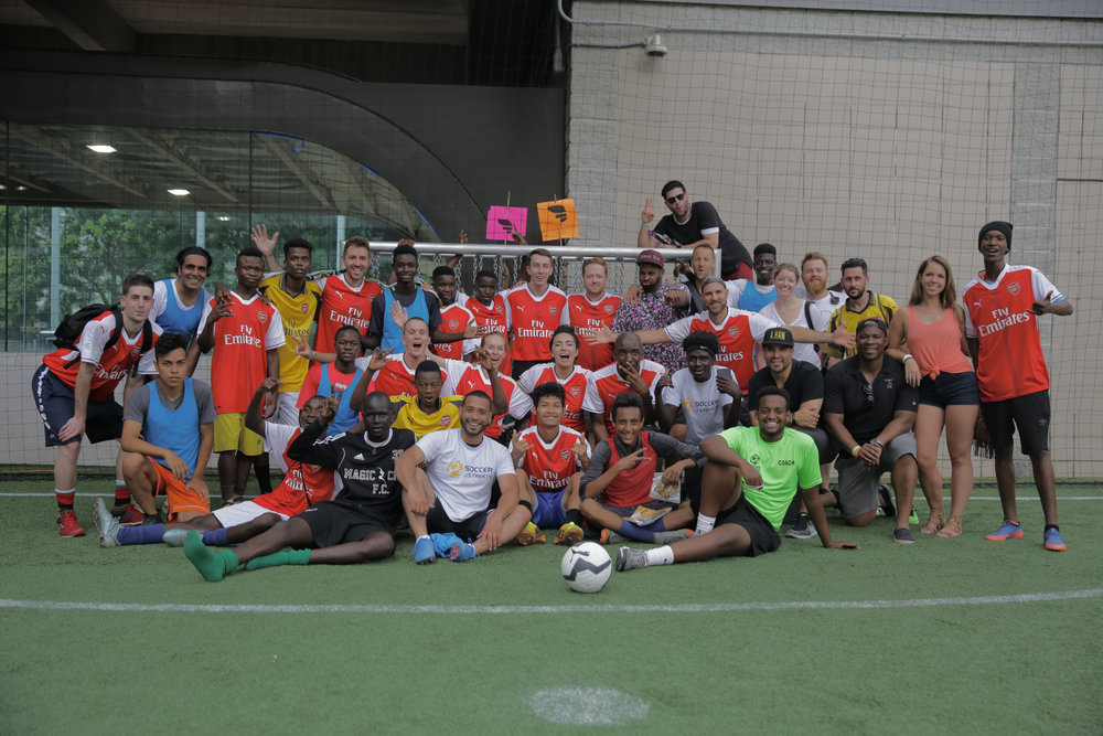 In the final match, Soccer in the Streets beat Breakout to claim top honors.