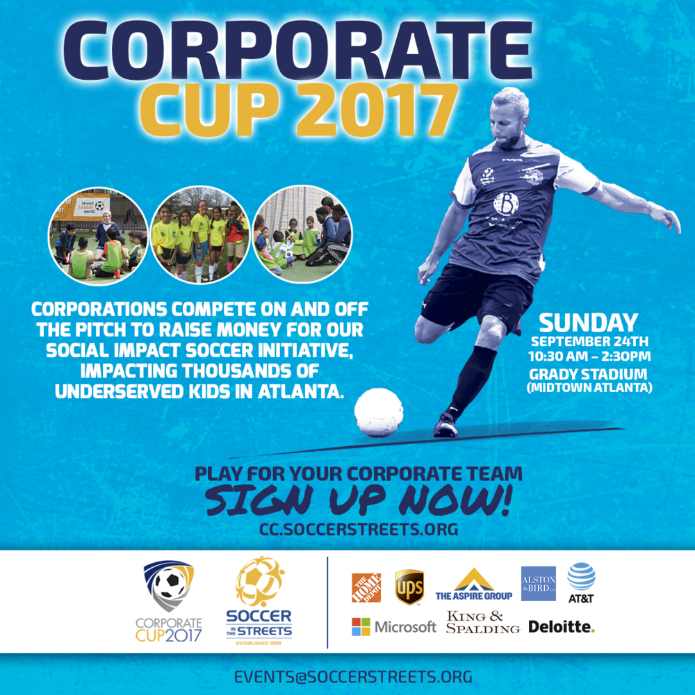 Corporate teams from Home Depot, Microsoft, UPS, AT&T, Deloitte, Alston & Bird, The Aspire Group, and King & Spalding to participate in this fundraiser tournament