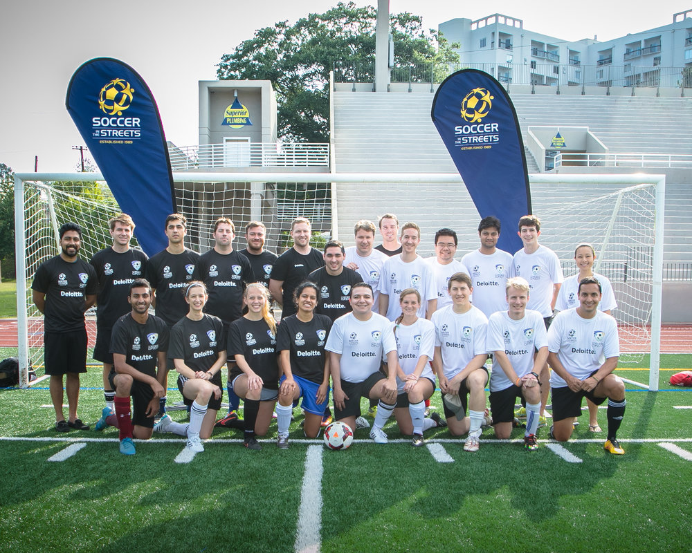 Off the pitch, Team Deloitte took the honors as the number one fundraising squad of the tournament, raising over $12k in total.