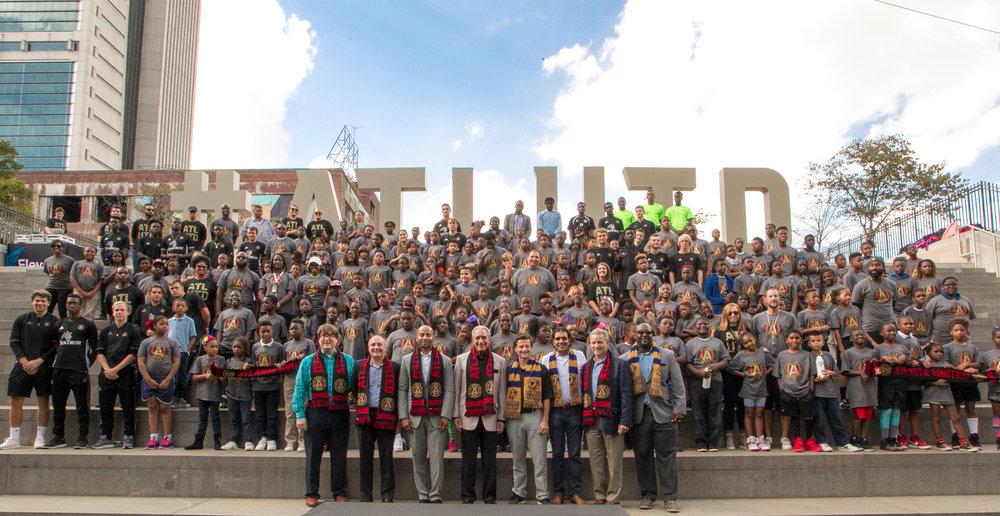 El emblemático proyecto comunitario es el resultado de la alianza exitosa entre el club de la MLS y Soccer in the Streets
