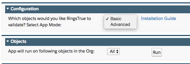 RingsTrue modes