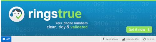 RingsTrue, available on the AppExchange here:https://appexchange.salesforce.com/listingDetail?listingId=a0N3000000DpUDTEA3