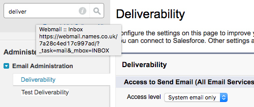 Change Deliverability to either System email or All Email