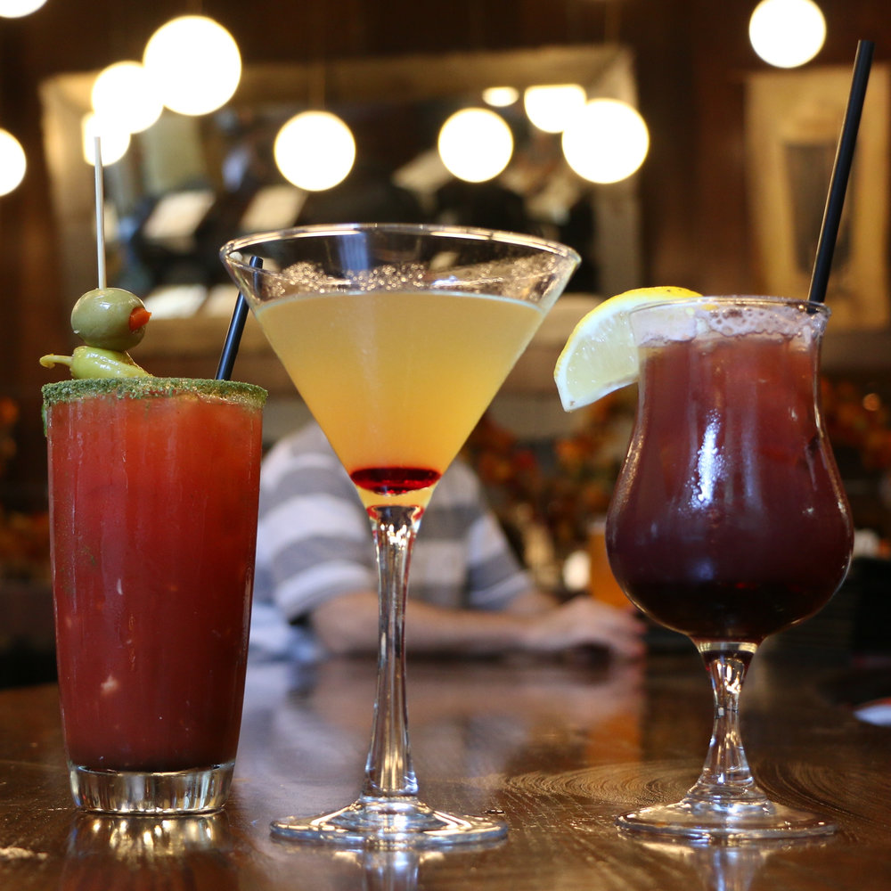Featured: bistro caesar, asphalt jungle bird, not sangria