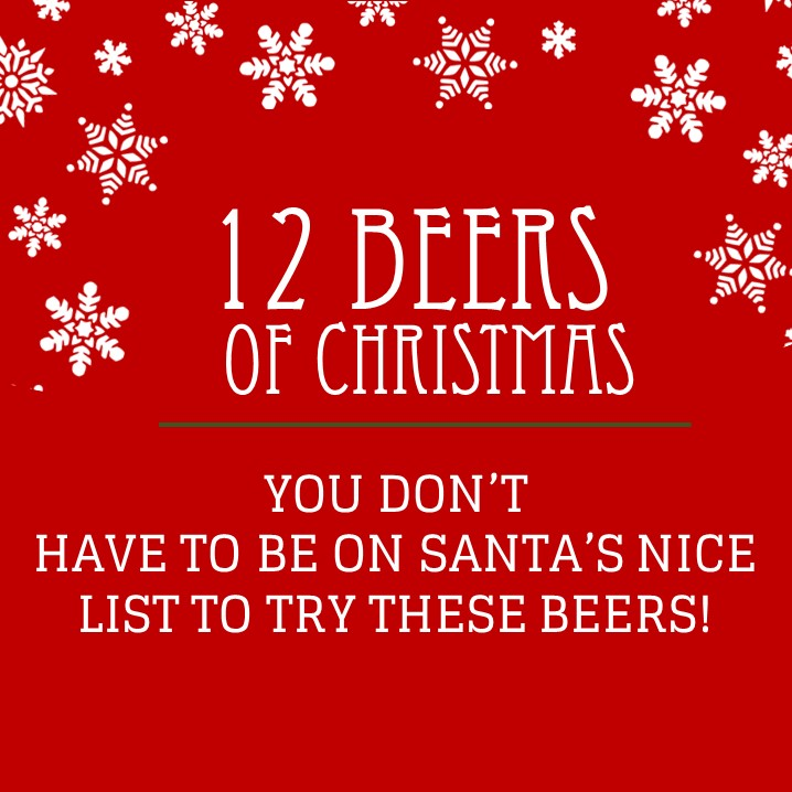 - Whether you've been naughty or nice,make sure you stop in over the holidays & try all 12!CLICK TO CHECK OUT THE LIST!