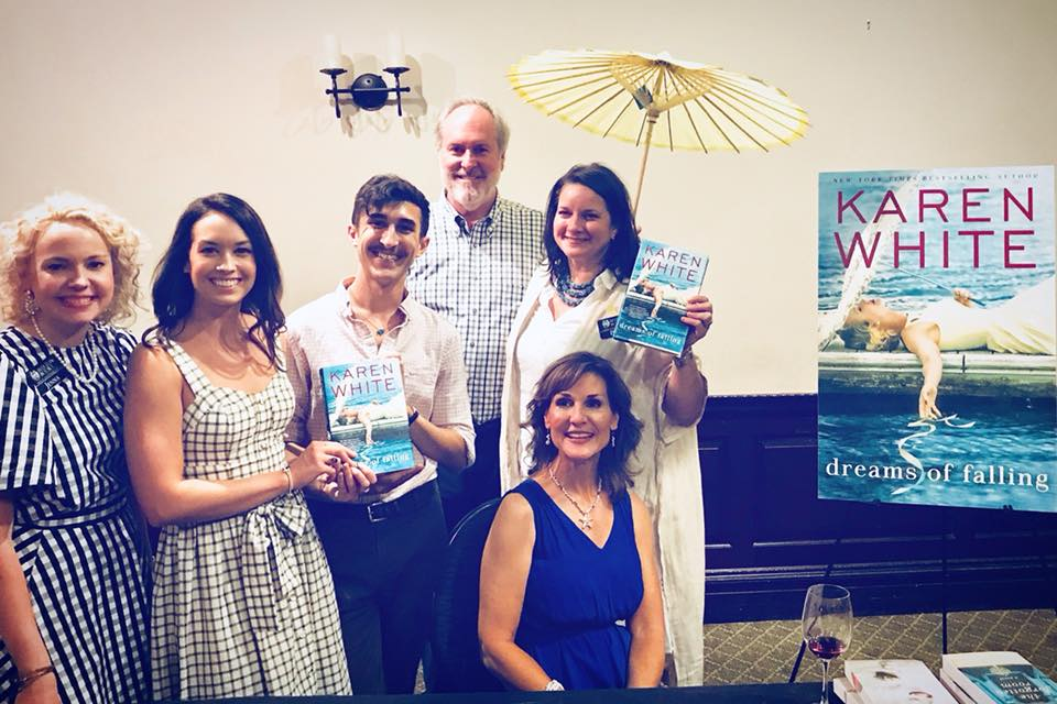 Karen White's launch party for Dreams of Falling at the Harbor Club