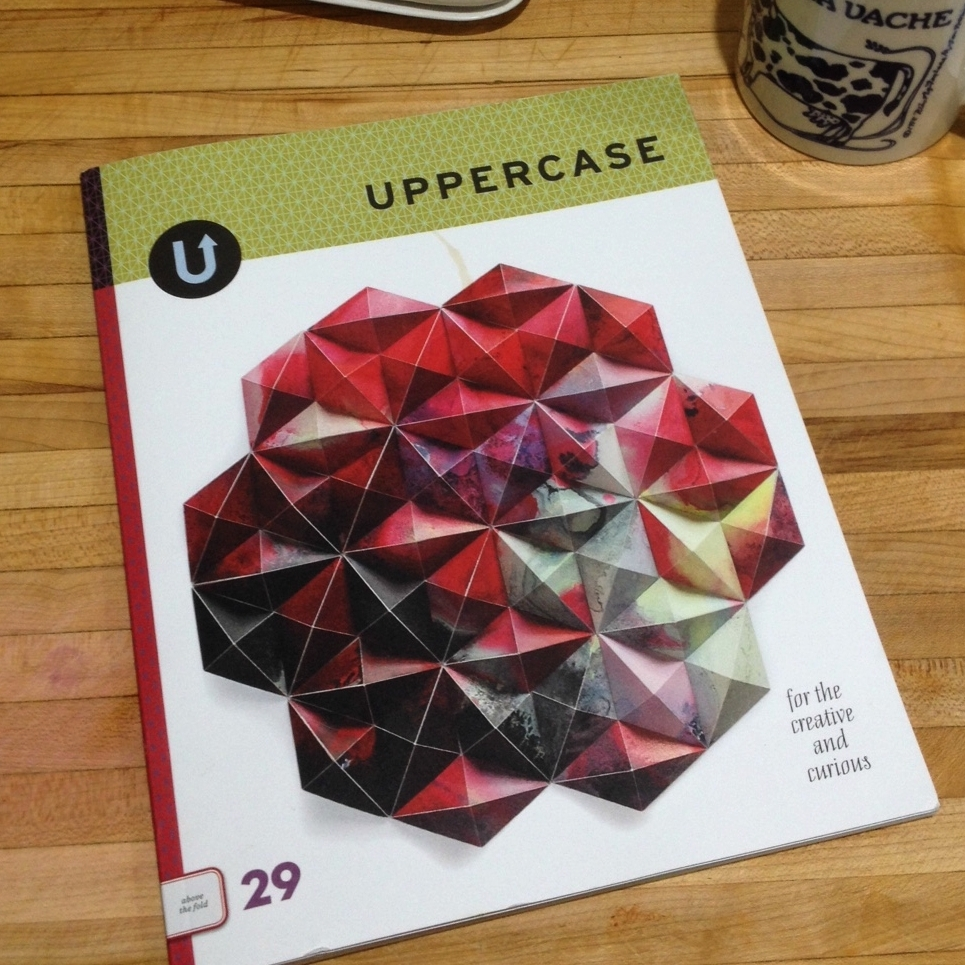 UPPERCASE issue #29 cover