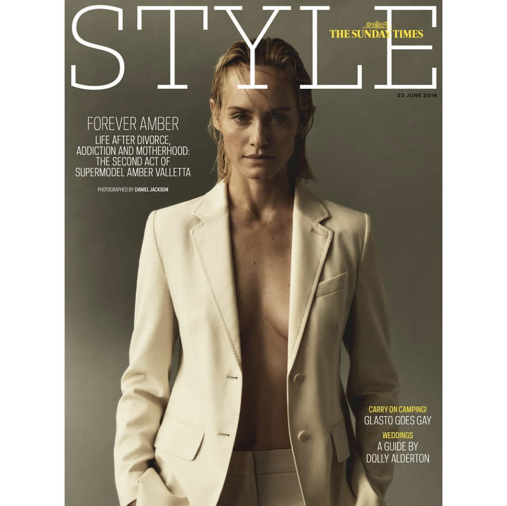 Amber Marie Goetz the sunday times style   model, actress, campaigner, mother