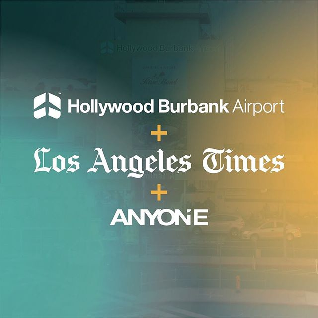Anyone Collective is proud to be recognized by the @LATimes and @BurbankLeader for our marketing and branding work with Hollywood Burbank Airport (@fly_bur)! Read full article at bit.ly/anyone_awards or click the link in bio to learn more.