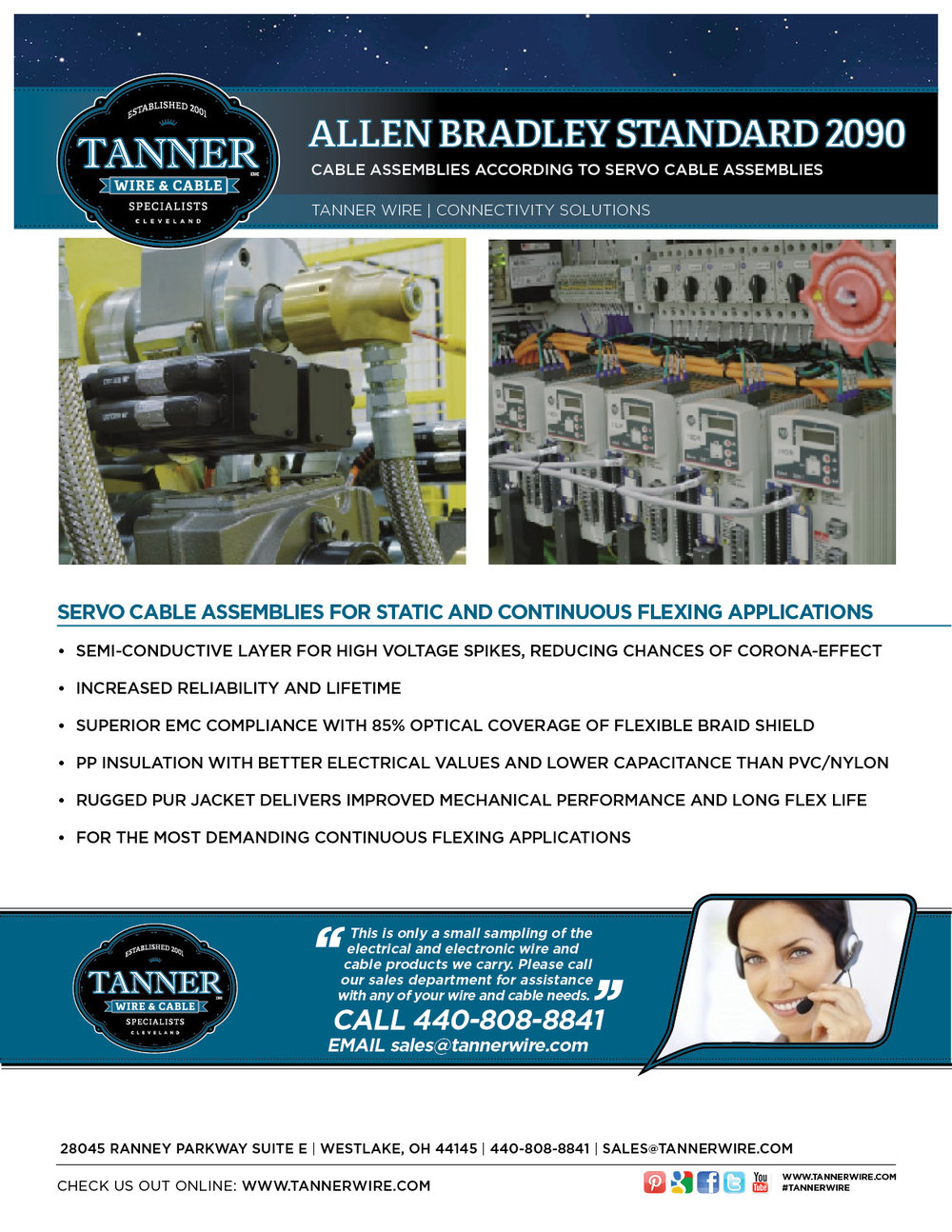 Tanner Inc., Wire & Cable Specialists