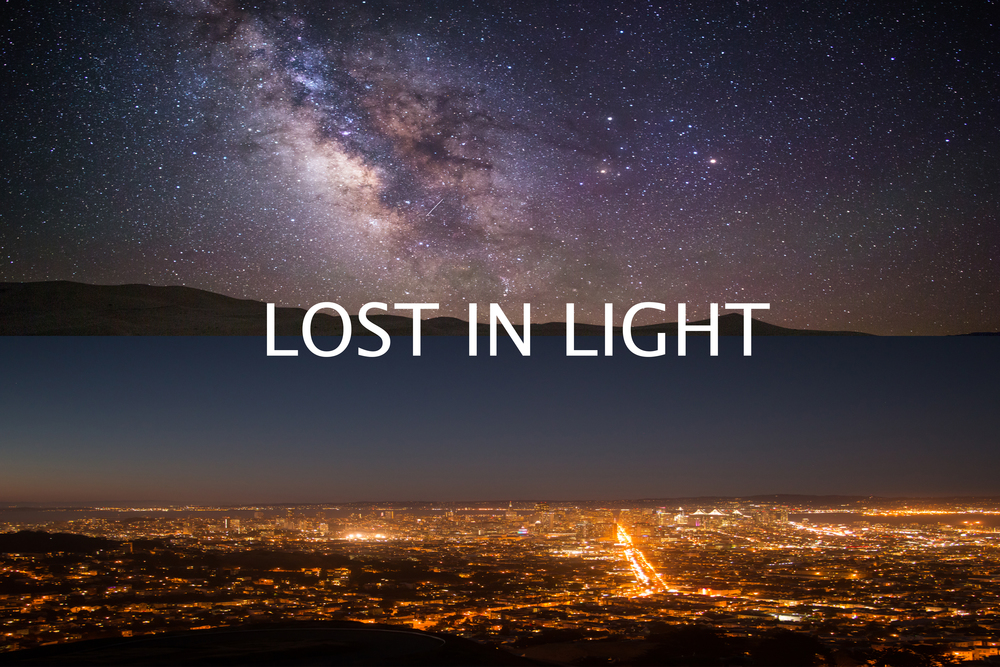 lost in light behind the scenes saving the dark