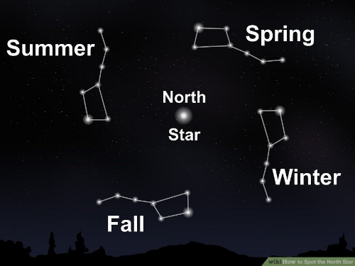 Credit: wikiHow Creative Commons. How to Spot the North Star