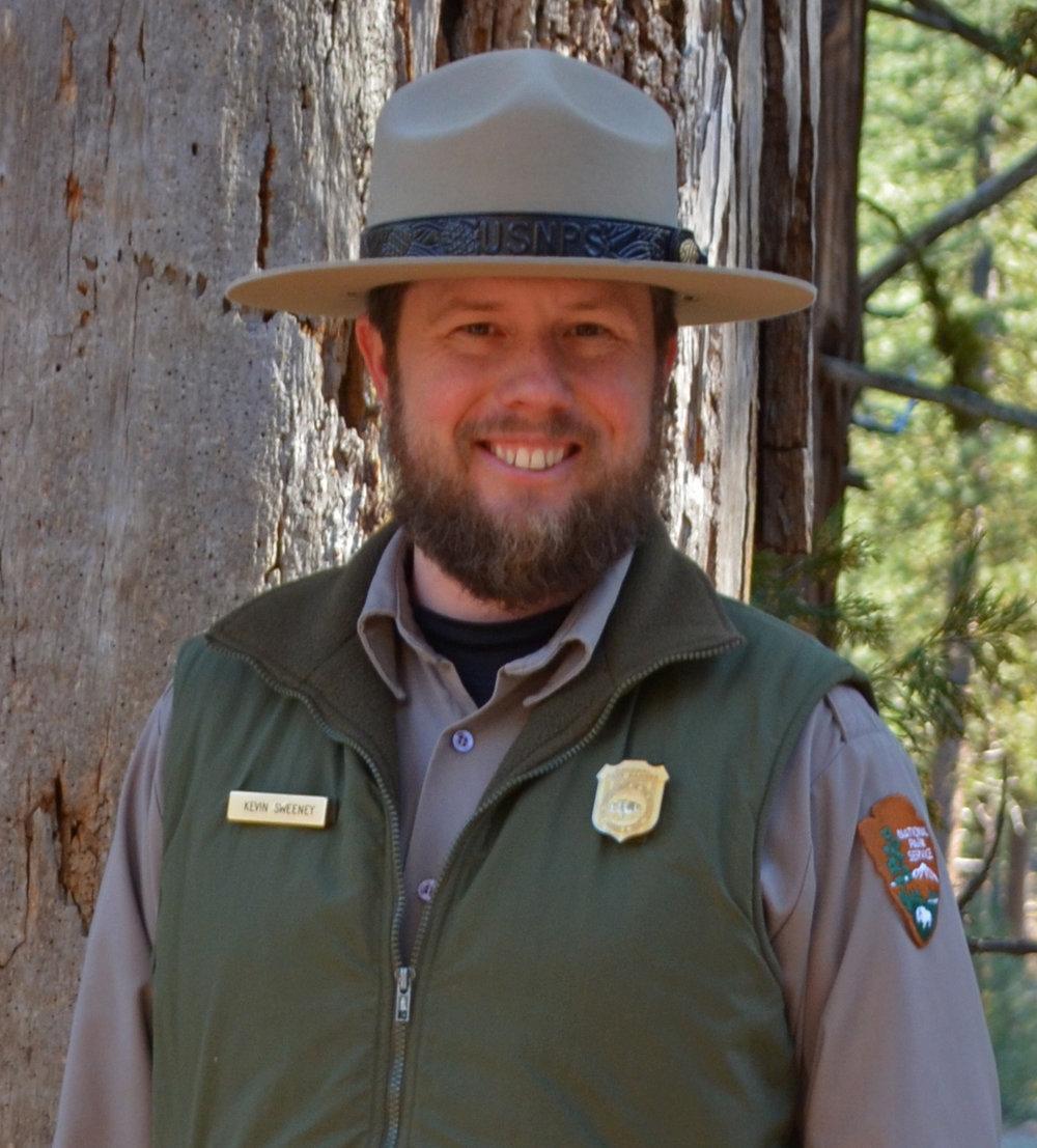 <b>KEVIN SWEENEY</b><br>Ranger, Lassen National Park