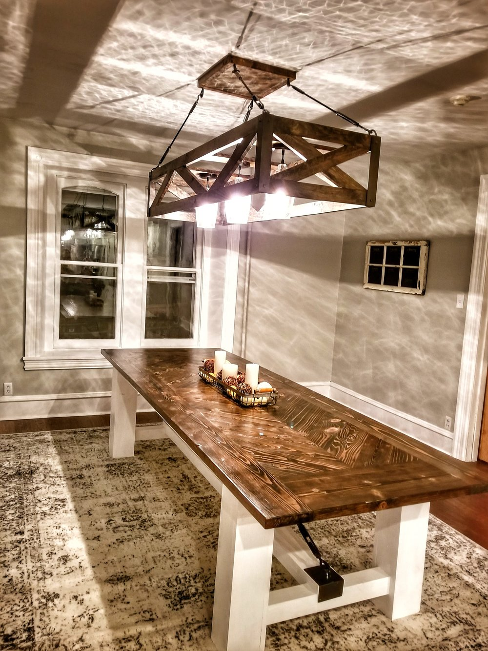 Custom Farmhouse Table In Phoenixville Chester County