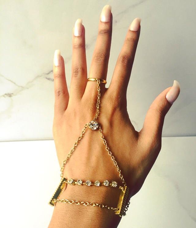 Bracelets Hand Jewelry GoddessLuxe Jewelry