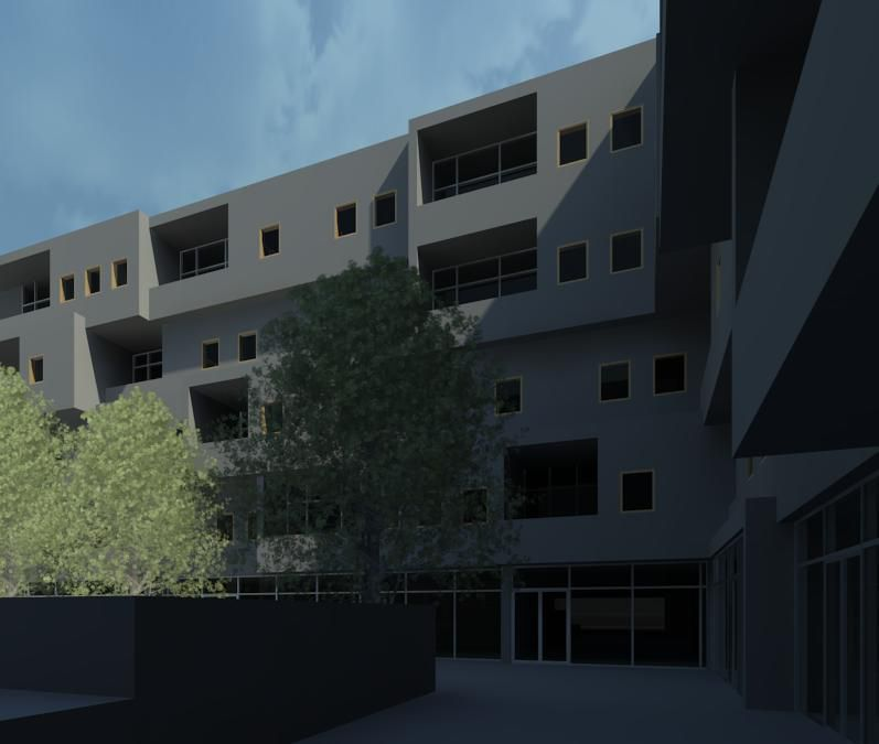 Exterior rendering || Revit