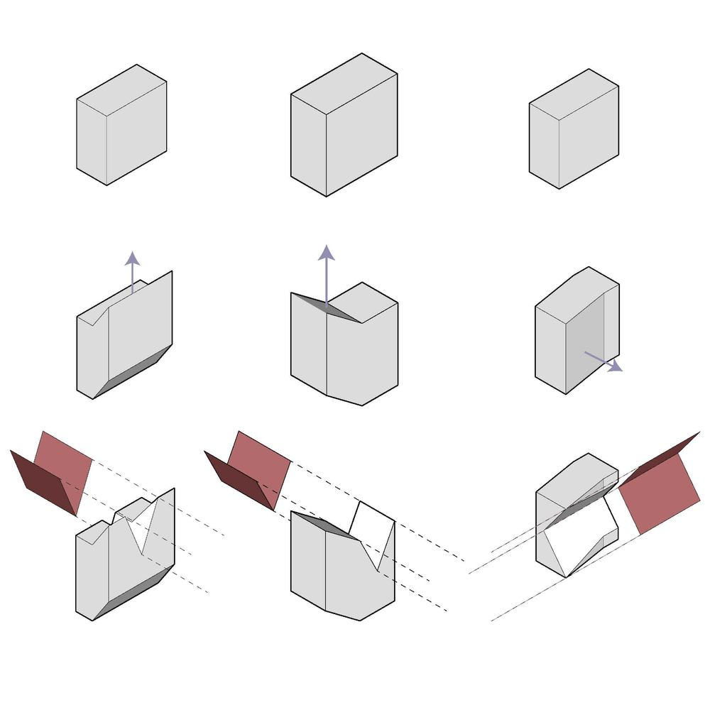 Variations on sequential operations || SketchUp, Illustrator