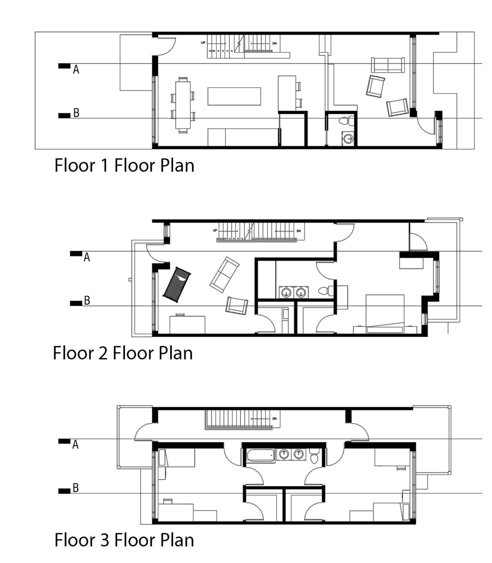 Floor plans || Revit, Photoshop