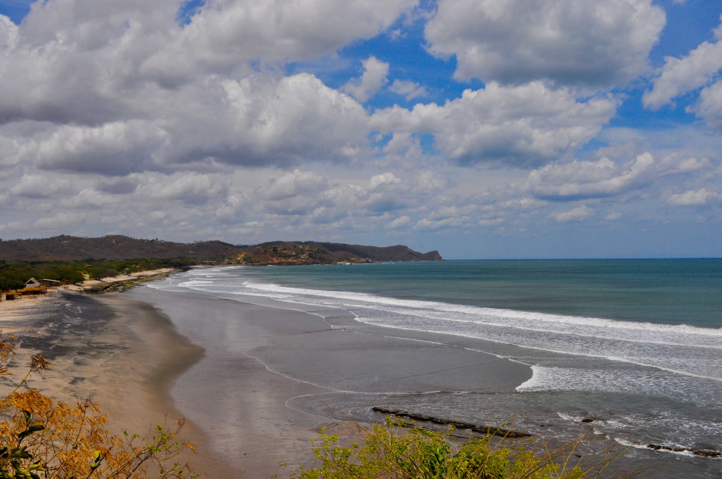 A beach in Nicaragua.  Where I began my own healing...and suffered very sever sun burns. :)