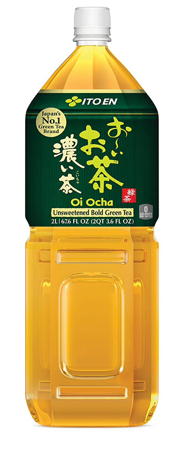Ito En Oi Ocha - Flashing back as a 16-year-old AFS exchange student in Sendai, Japan, my love for tea grew with earthy Genmaicha, which accompanied every meal. When Ito-En opened its elegant store on Madison Avenue in 2001, this was a game-changer: delicious, perfectly balanced organic brews in handy gallon-sized bottles. That said, it's a guilty pleasure as I'm obsessing about the world's plastic problem.Other great green Ito-En selections include mint, jasmine and white. Each serving packs a day's recommended Vitamin C.