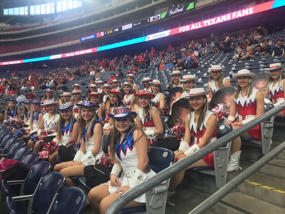 2017 football playoff game at Reliant Stadium