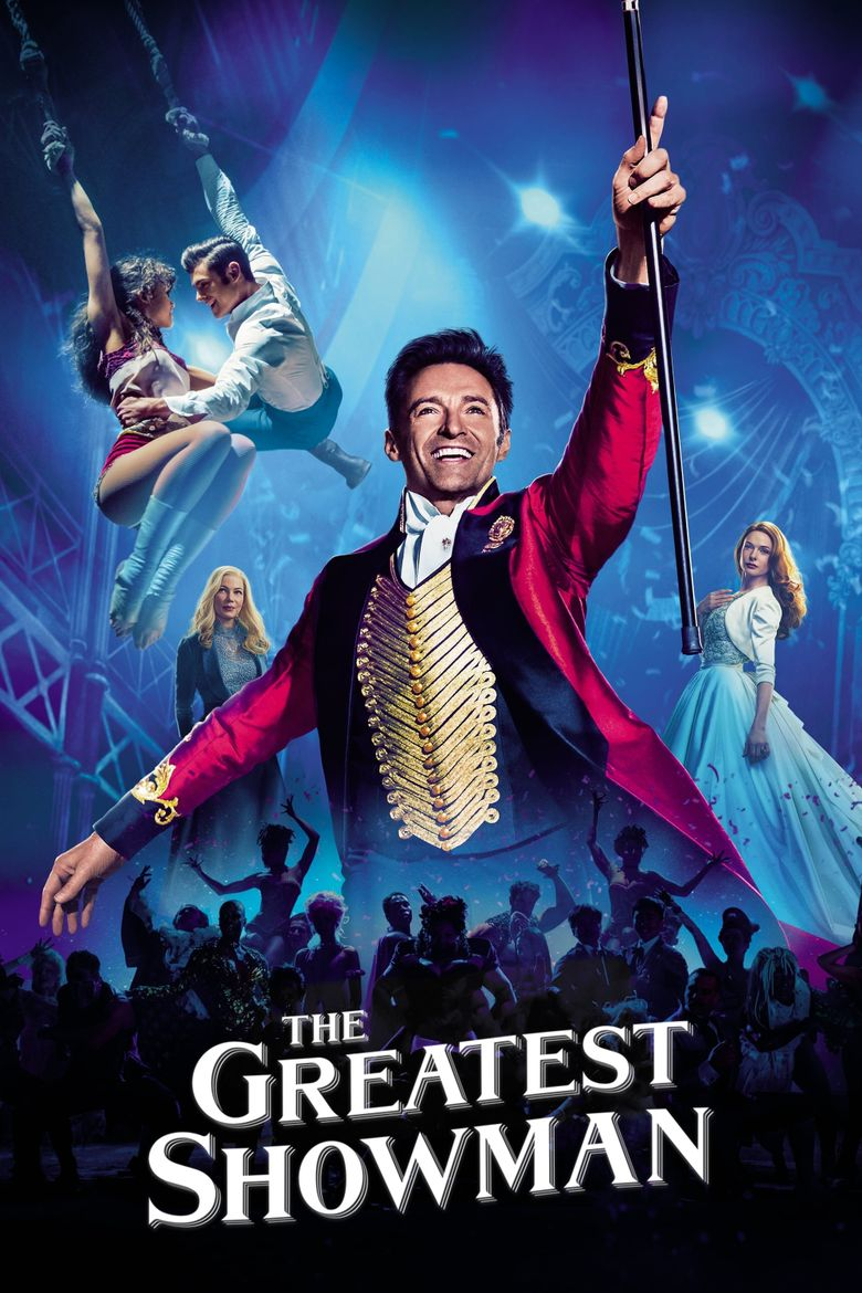The Greatest Showman - 2017 (Feature) – 1h 46mThe Greatest Showman is an American musical film directed by Michael Gracey in his directorial debut, starring Hugh Jackman, Zac Efron, Michelle Williams, Rebecca Ferguson, and Zendaya. The film is inspired by the story of P. T. Barnum's creation of the Barnum & Bailey Circus and the lives of its star attractions.At the 75th Golden Globe Awards, the film received nominations for Best Motion Picture – Musical or Comedy and Best Actor – Musical or Comedy for Jackman.