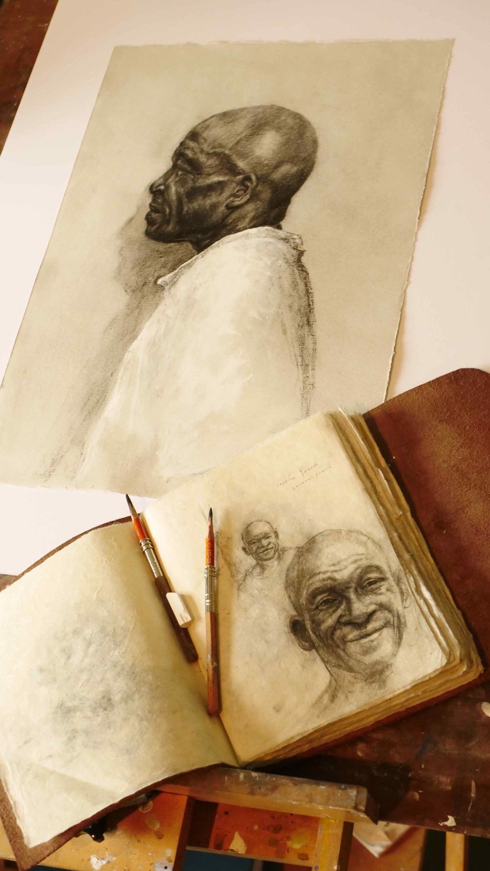 Sketches of Cyril.