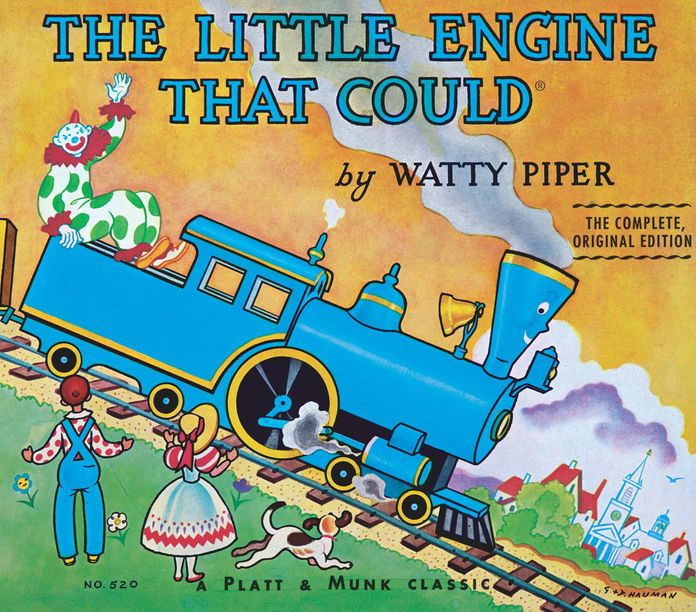 "Made popular in the 1930s, The Little Engine That Could was most noted for its optimistic protagonist, The Little Engine, and its endearing chant, ""I think I can. I think I can. I think I can."""