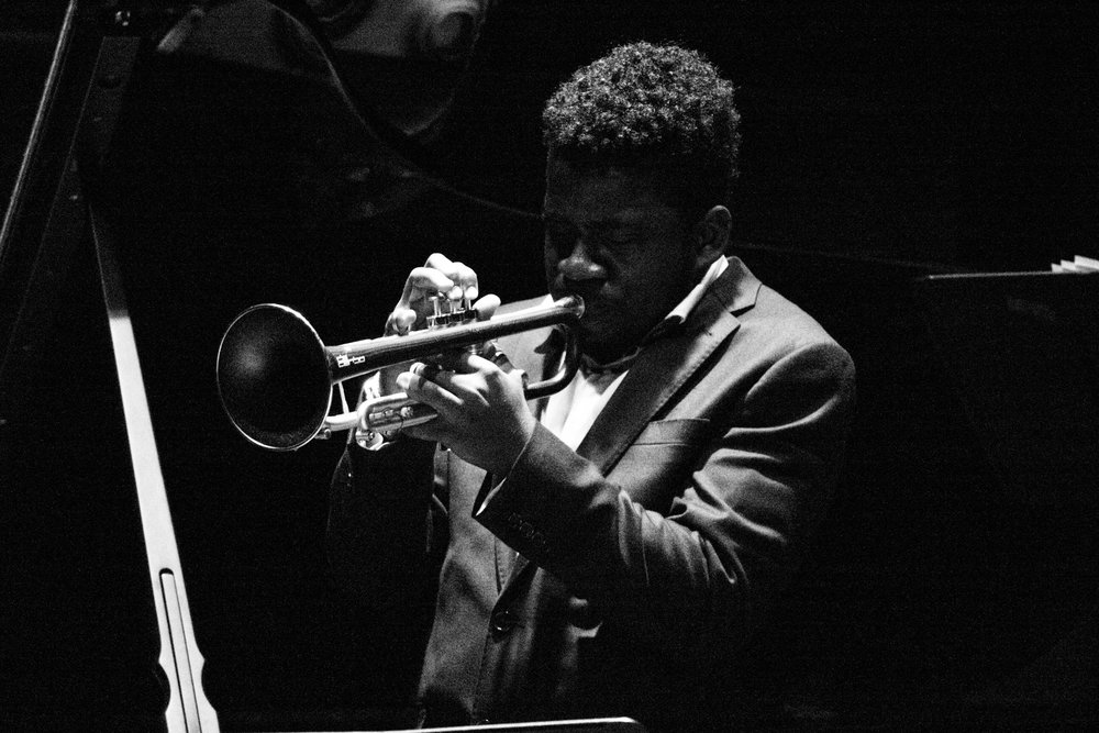 Giveton Gelin - 18 year-old Bahamian trumpet prodigy.