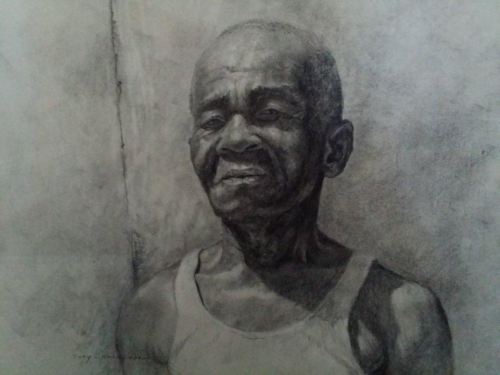 """""""Tony Haitian solider"""" (2017)"""