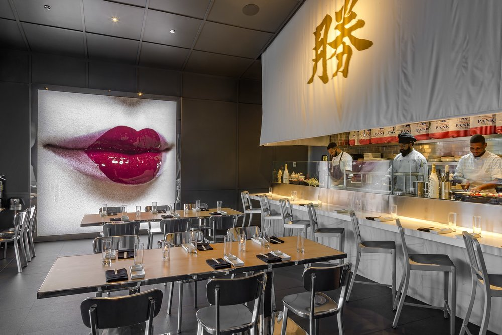 Copy of Nightlife. Katsuya, designed by Phillipe Starck.