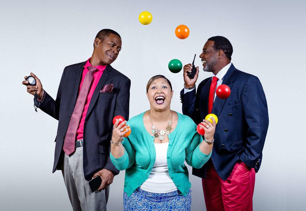 From Left to Right: Fabian, Tinika, Ray