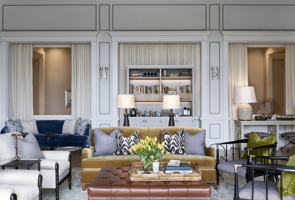 Lose yourself in the stylish sophistication of The Library.