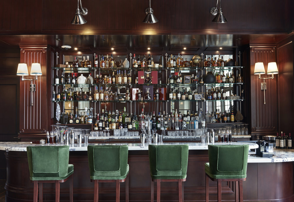 The Manor bar has a mature 20th century feel with unique decor.