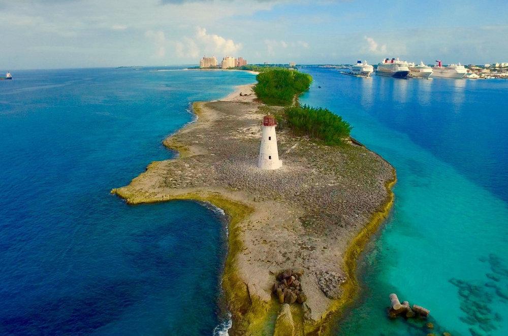 Copy of Nassau's Hog Island Lighthouse