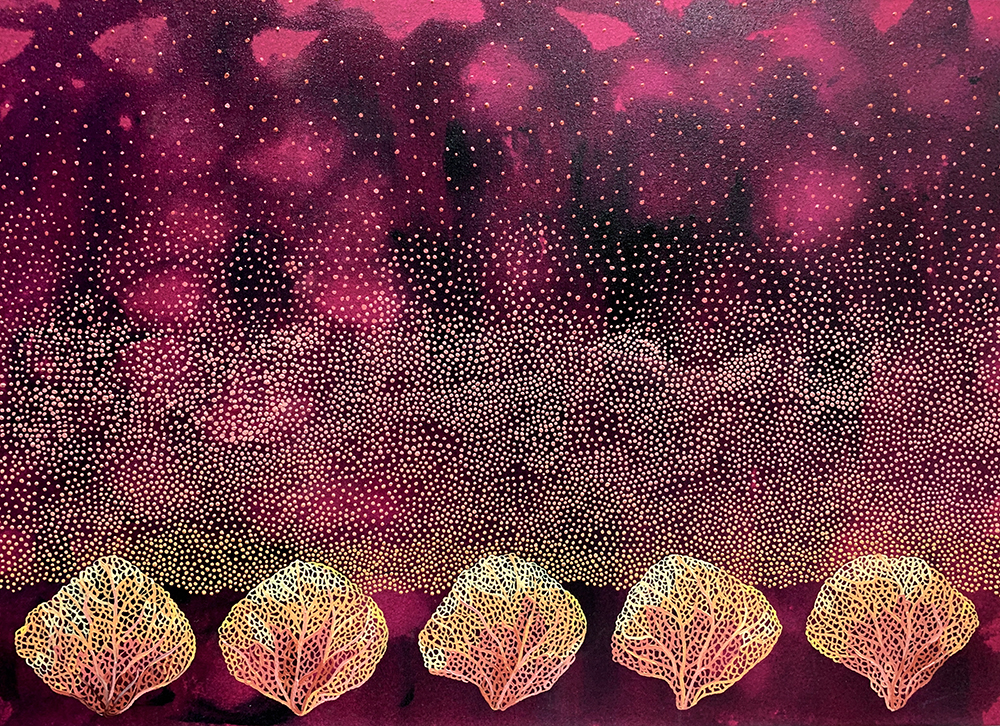 """Lullaby 2"", oil on canvas 56 x 78cm"