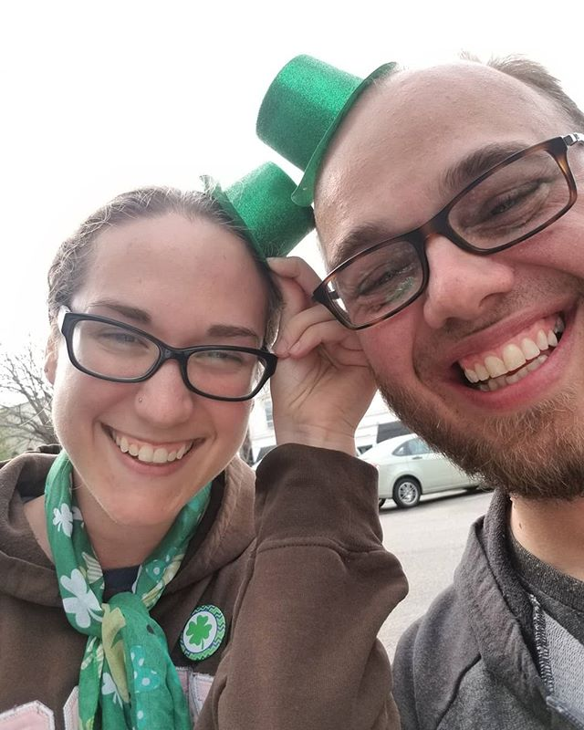 Happy St Patrick's Day from me and @blueberryacres! #stpatricksday #drinks