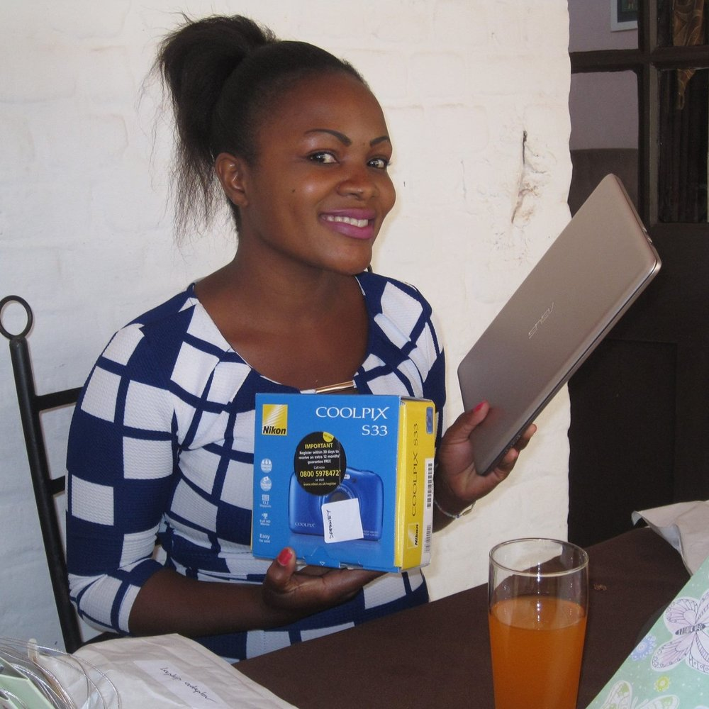 Daphney Phiri - Daphney works for our sister charity - MOSES - Malawian Orphans Sponsored Education Scheme. She collaborates with Peatry and Nina and is an integral part of our group visits and project work.