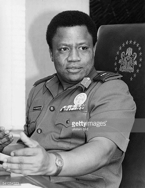 Major General  Babangida