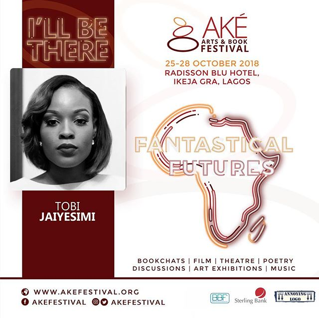 Not only are we thrilled that this year's #AkeFest will be in Lagos, we're likewise ecstatic to have our founder, @TobiJaiyesimi, as a guest this year, moderating a panel on Travel Writing with @Noo.Saro.Wiwa, Zukiswa Wanner and Funmi of @TVPAdventures! The line up—Jennifer Makumbi, @AyeshaHAttah, Mukoma Wa Ngugi, Panashe Chigumdazi, @Chibundu.Onuzo, Sefi Atta, @MsWanaWana, @OhTimehin, and many more—is exciting, and so are the panels—there will be panels in Yoruba and Igbo! Don't miss it: bit.ly/Ake18Reg ✨ #AkeFest18