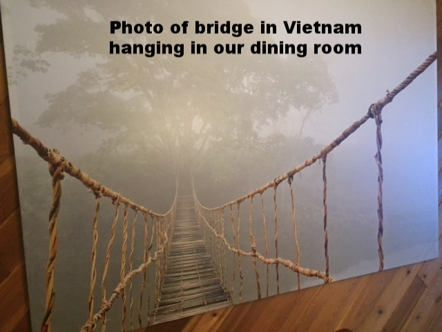 Picture of bridge in Vietnam