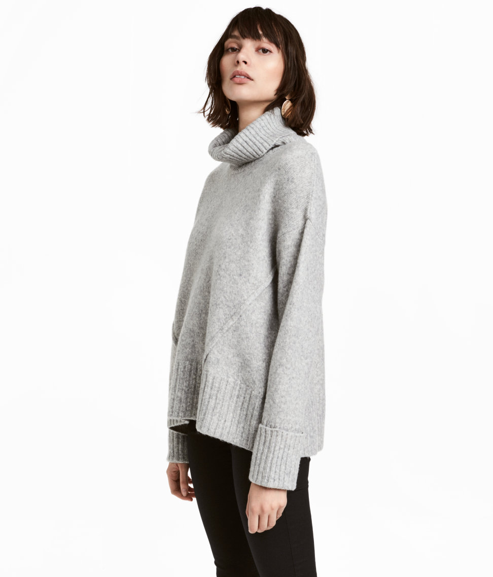 H&M - Knit Turtleneck Sweater$34.99