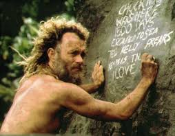 Castaway, 2000 - A postal service worker is marooned on a desert island and forced to dig deep into himself to survive