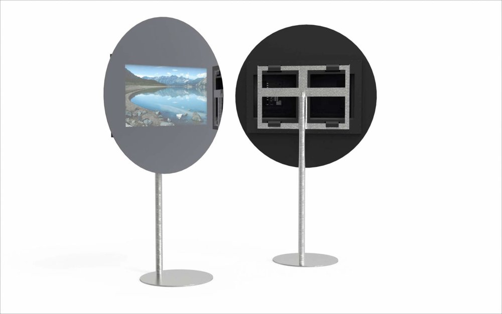 THE ROUND MIRROR TV ON STAND.jpg