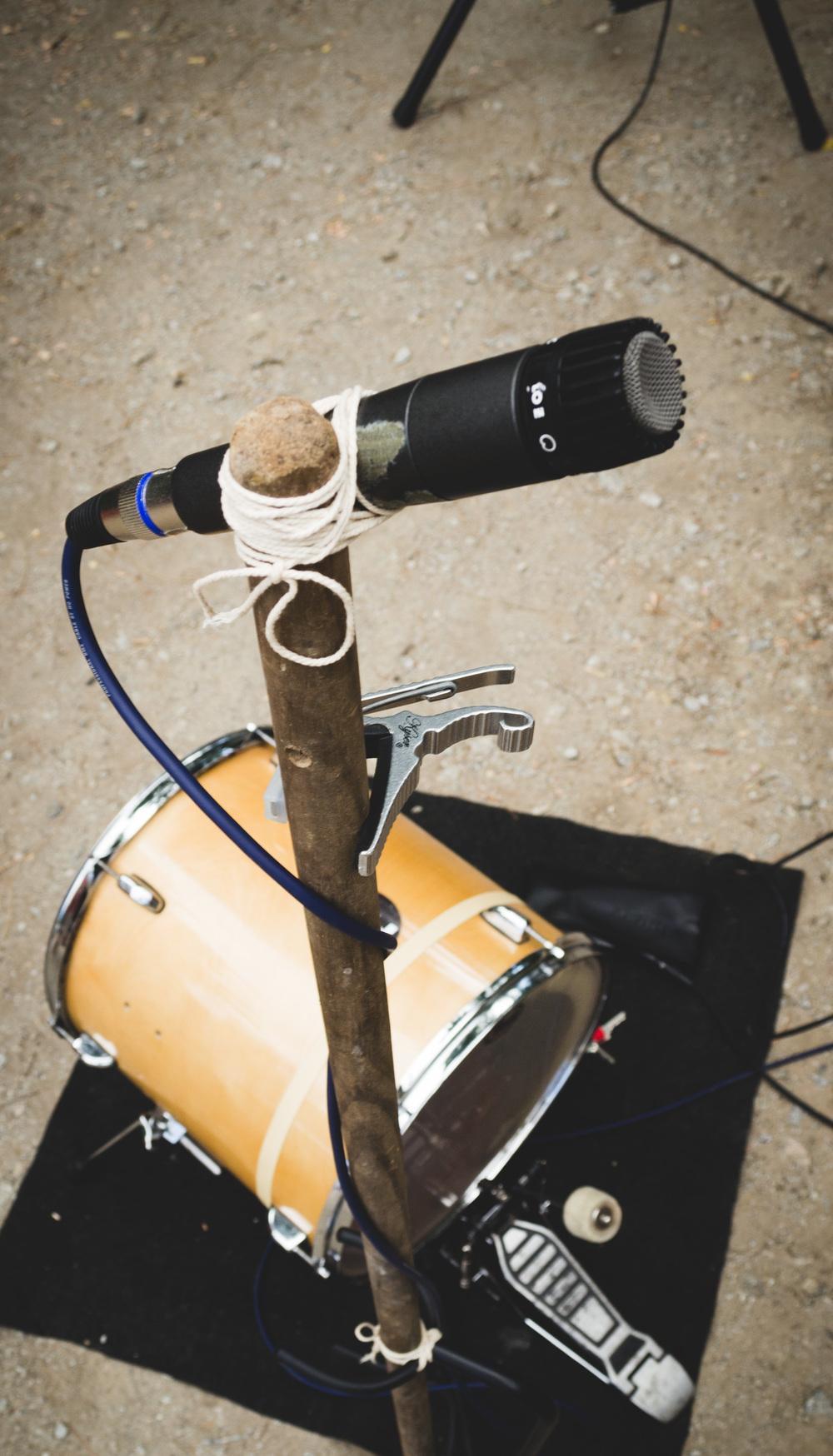 No mic stand? No problem!