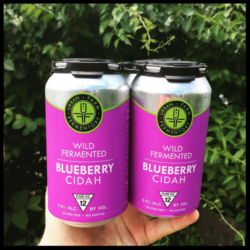 Please welcome our newest addition to our cidah line! Only Maine organic blueberries were used in this brew, providing sweeter notes than our other offerings.