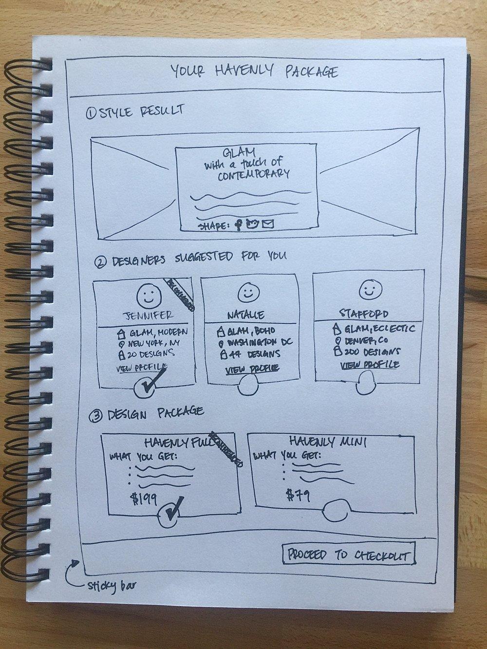 A high-level sketch of Package Builder V1