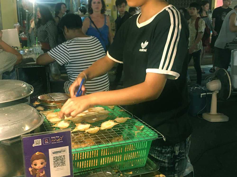 Kanom Krok, Street Food in Phuket Old Town